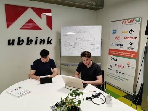 Studenten aan het werk in innovatiehub Achterhoek-Liemers